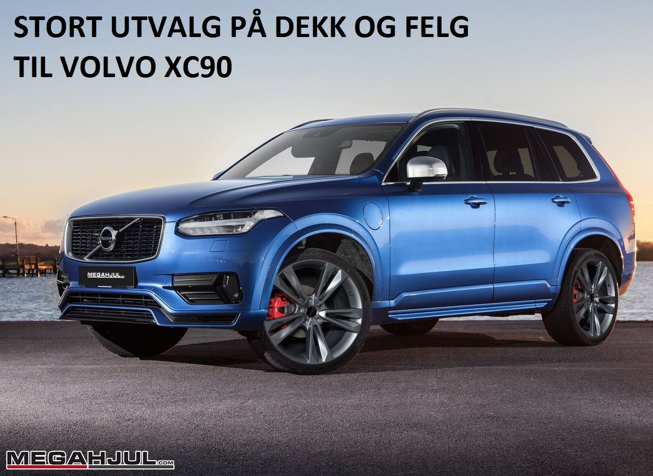 felger til volvo xc60 xc70 og xc90 megahjul. Black Bedroom Furniture Sets. Home Design Ideas